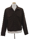 Mens Polyester Denim Style Jacket