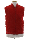 Mens Totally 80s Corduroy Vest