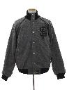 Mens Wool Letterman Jacket