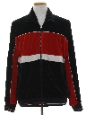 Mens Totally 80s Velour Track Jacket