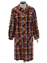 Womens Mod A-Line Dress