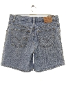 Womens Levis 550 Denim Shorts