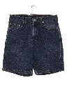 Mens Levis 550 Denim Shorts
