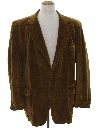 Mens Corduroy Sport Coat Jacket