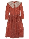 Womens/Girls Hippie Prairie Dress