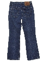Womens Levis 517 Slight Bootcut Flared Denim Jeans Pants