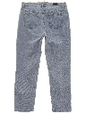 Womens Straight Leg Denim Jeans Pants