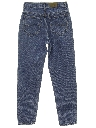 Womens Tapered Leg Jeans-cut Pants