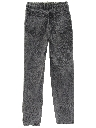 Womens Totally 80s High Waisted Acid Wash Jeans Pants