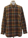 Mens Flannel Sport Shirt