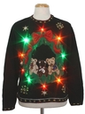 Unisex Multicolor Lightup Bearrific Ugly Christmas Sweater
