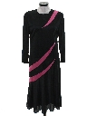 Womens Totally 80s Maxi Cocktail Dress