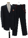 Mens Matching 3 Piece Suit