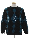 Mens Wicked 90s Preppy Sweater