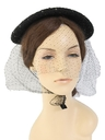 Womens Accessories - Saucer Hat