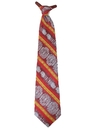 Mens Wide Disco Clip On Necktie