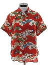 Womens Hawaiian Style Shirt