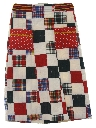 Womens or Girls Patchwork Hippie Skirt