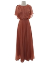Womens Prom Or Cocktail Disco Maxi Dress