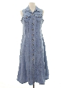 Womens Totally 80s Denim Dress
