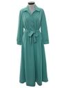 Womens Knit Lounge Maxi Dress