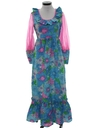 Womens Hippie Hawaiian Dress