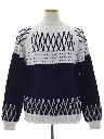 Mens Mod Ski Sweater