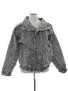 Mens Totally 80s Stone Washed Denim Jacket