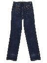 Womens Totally 80s High Waisted Straight Leg Denim Jeans Pants