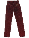 Womens Totally 80s Tapered Leg Over Dyed Tapered Denim Jeans Pants