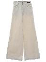 Womens Bellbottom Denim Jeans Pants