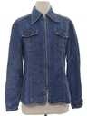 Womens Mod Denim Shirt Jacket