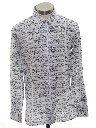 Mens/Boys Print Knit Shirt