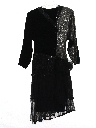Womens Totally 80s Designer Prom Or Cocktail Dress