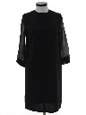 Womens Mod Cocktail Dress