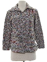 Womens Knit Leisure Shirt-Jac Style Shirt