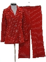 Womens Mod Knit Leisure Suit