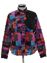 Womens Totally 80s Graphic Print Western Shirt