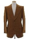 Mens Mod Wool Blazer Sportcoat Jacket