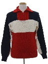 Mens Mod Pullover Ski Sweater