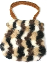 Womens Accessories - Faux Fur Purse