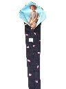 Mens Wide Peek-a-Boo Necktie