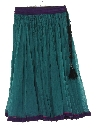 Womens Hippie Broomstick Style Skirt