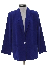 Womens Totally 80s Boyfriend Style Blazer Jacket
