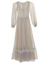 Womens/Girls Prairie Dress
