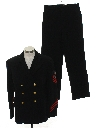 Mens Navy Officers Military Uniform