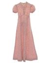 Womens Prairie Style Maxi Dress