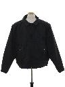 Mens Police Style Work Zip Jacket