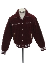 Mens or Boys Corduroy Letterman Style Band Jacket