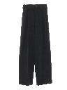 Womens Designer High Waisted Slacks Pants